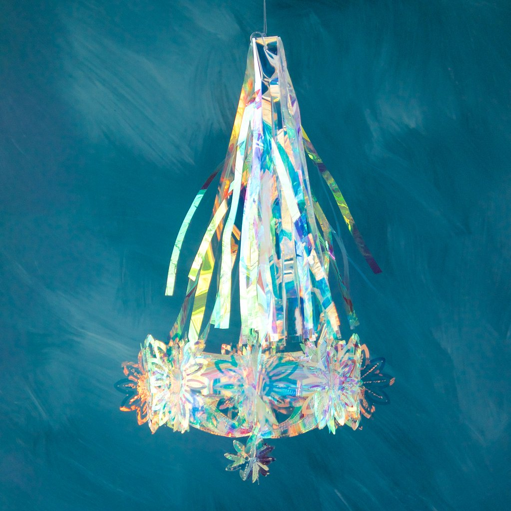 Small Iridescent Chandelier