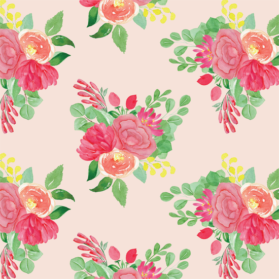 Summer Bouquet Wrapping Paper