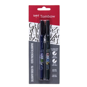 Tombow Fudenosuke Brush Pen Set
