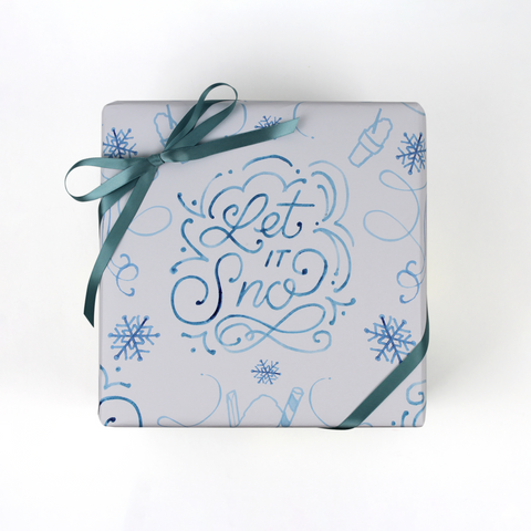 Let it Sno (Snoballs) Wrapping Paper