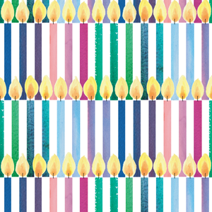 Birthday Candles Wrapping Paper