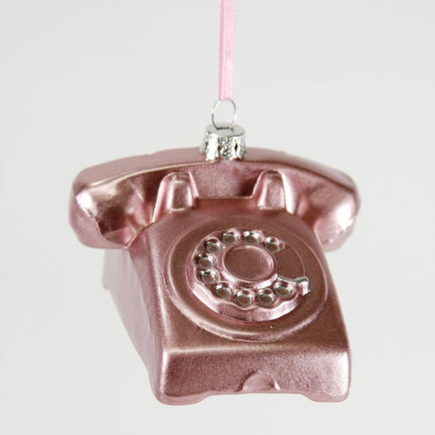 Rotary Phone Ornament
