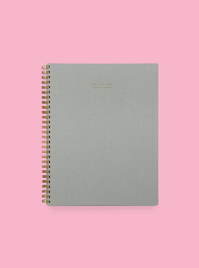 2021 6-Month Task Planner-- Dove Gray