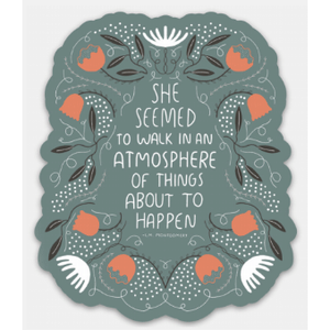 Walk in Atmosphere Sticker