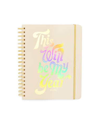 This Will Be My Year - Large Planner