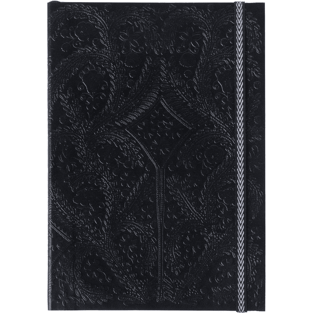 Christian Lacroix Embossed Notebook - Black