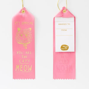 Cat's Meow Award Ribbon