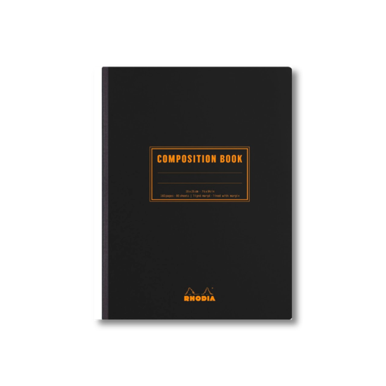 Rhodia Composition Notebook - Black