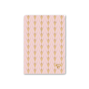 Pastel Deco Notebook - Powder Pink
