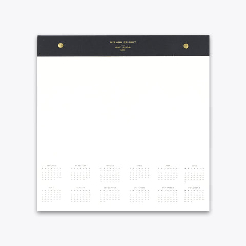 Desktop Notepad and Calendar