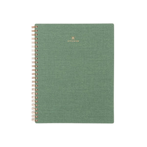 Dot Grid Workbook - Fern Green