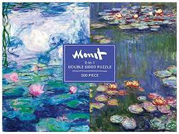 Monet 500 Piece Double Puzzle