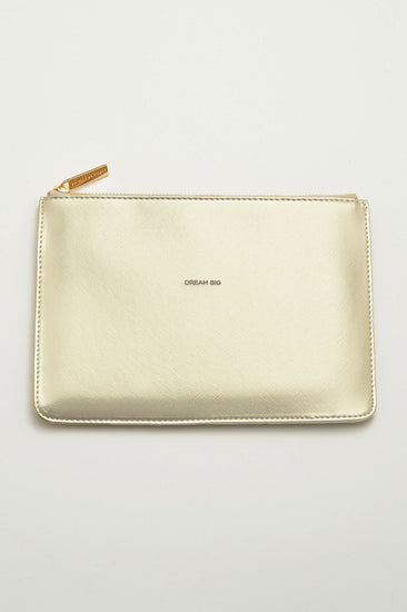 Gold Dream Big Medium Pouch