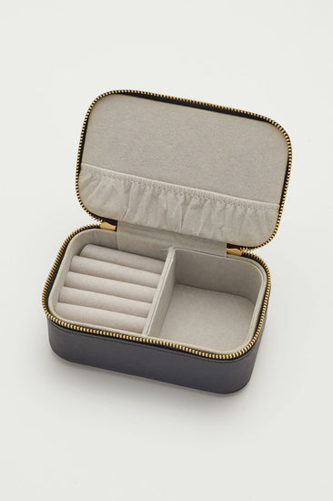 Navy Live As You Dream Mini Jewelry Box