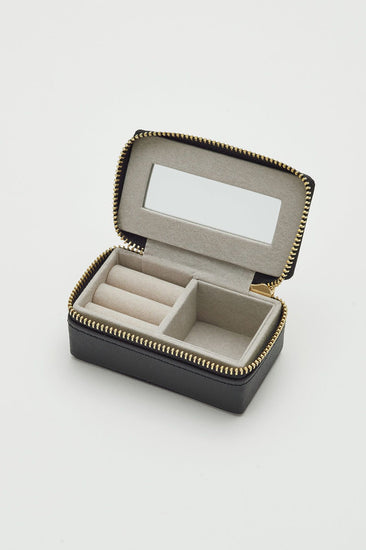 Black Treasure Me Tiny Jewelry Box