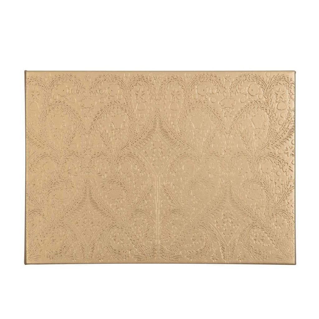 Gold Christian Lacroix Guest Book