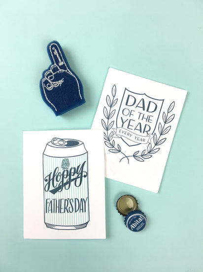 Hoppy Father's Day Greeting Card