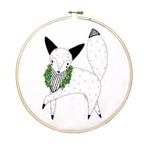 Fox Embroidery Sampler