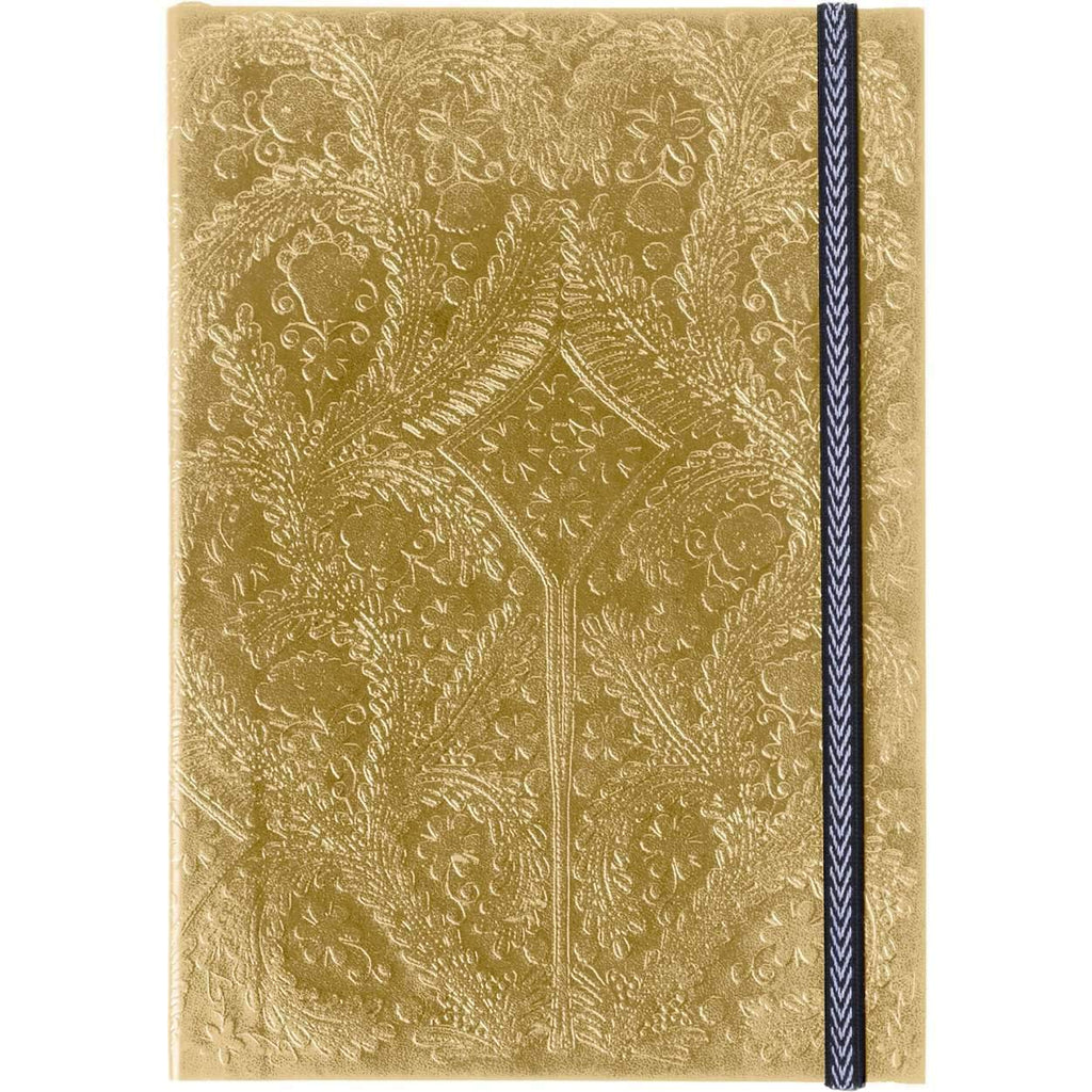 Christian Lacroix Embossed Notebook - Gold