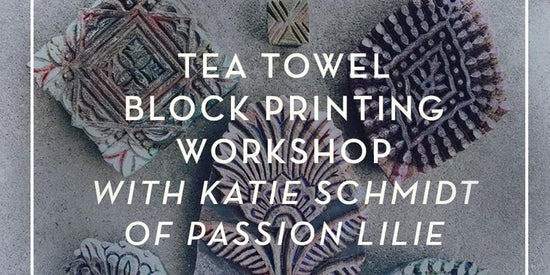 Block Printing Workshop with Katie Schmidt