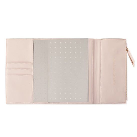 Copper Faux Leather Clutch Journal