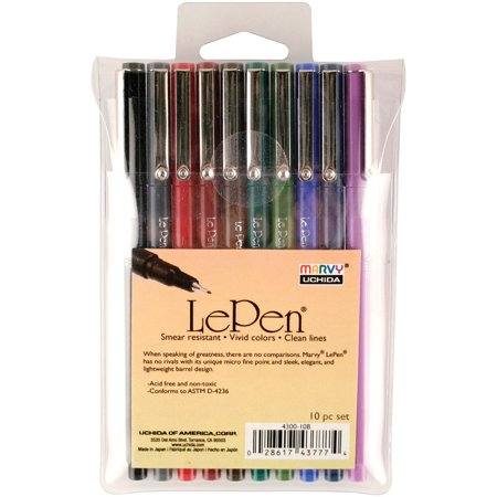 LePen 10 pack - Dark Color Set