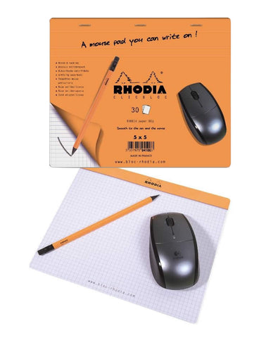 Rhodia (Mouse) Pad 7 ½ x 9: Graph 30 sheets