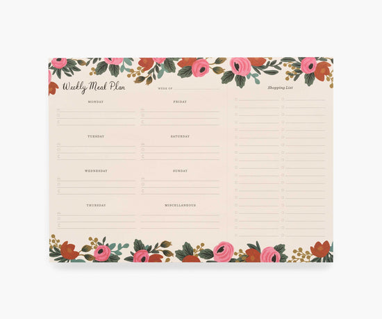 Rosa Weekly Meal Planner