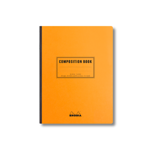 Rhodia Composition Notebook - Orange