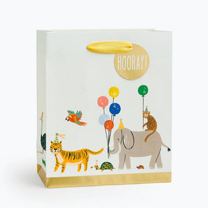 Party Animals Medium Gift Bag