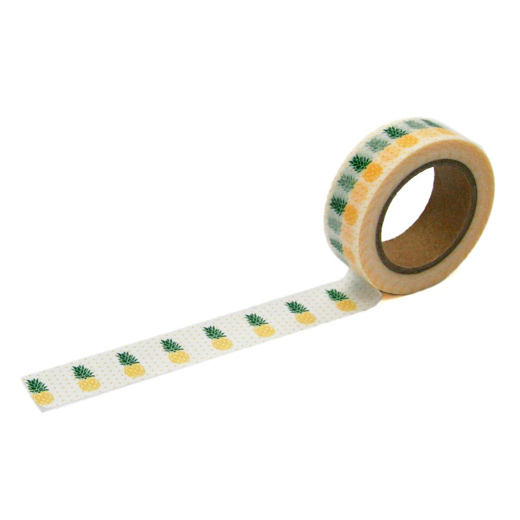 Yellow Pineapple Washi Tape