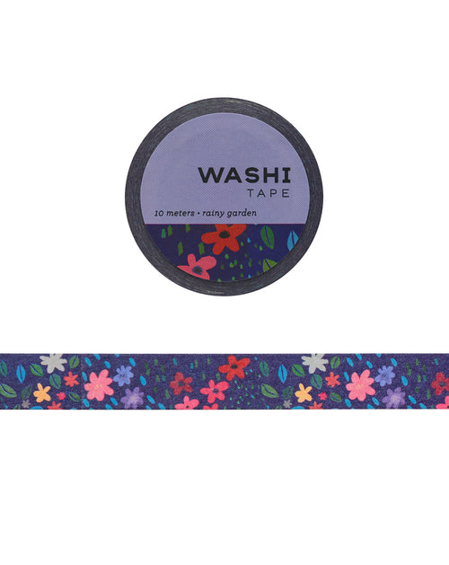 Rainy Garden Washi Tape