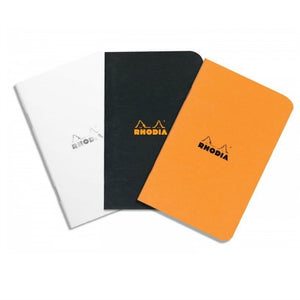 "Rhodia Classic Notebook - Ice White (Lined) 6"" x 8.25"""