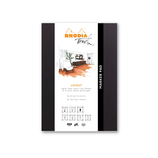 Rhodia Touch Marker Layout Pad