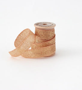 Metallic Loose Weave Ribbon