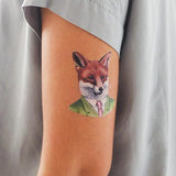 Red Fox Temporary Tattoo Pack