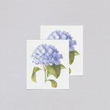 Scented Blue Hydrangea Temporary Tattoo Set
