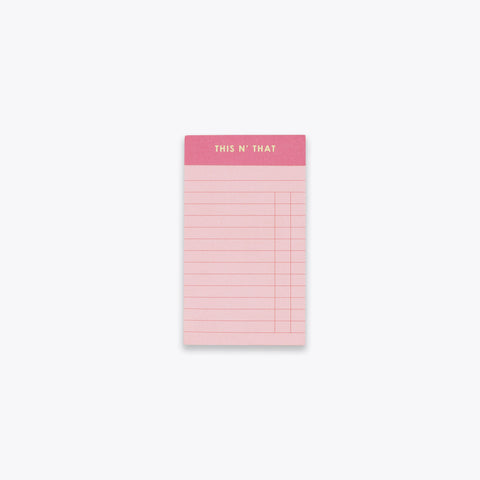 This N' That Notepad