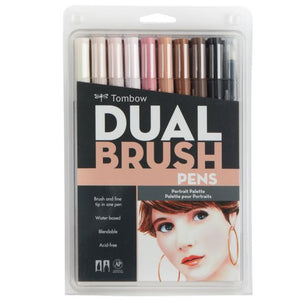 Tombow Dual Brush Pen 10 Pack - Portrait