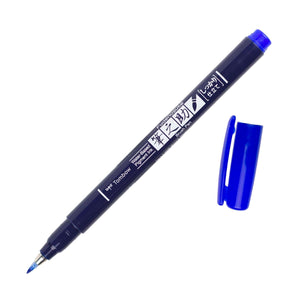 Tombow Fudenosuke Brush Pen Blue