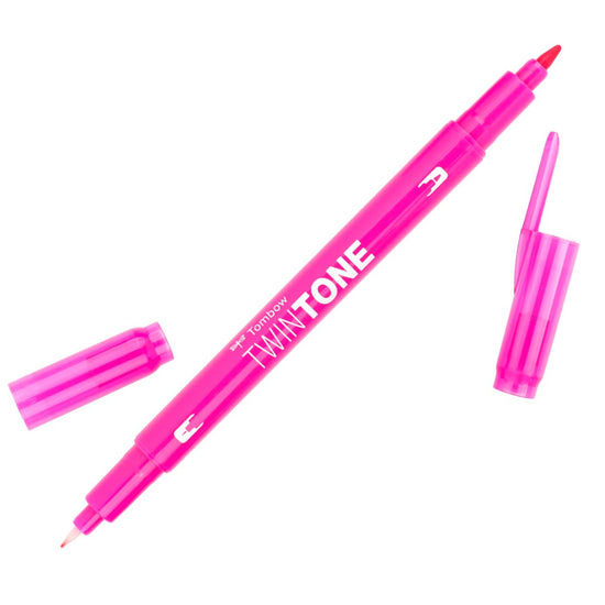 Tombow Pink TwinTone Marker