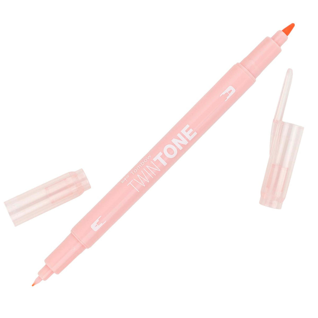 Tombow Coral Pink TwinTone Marker