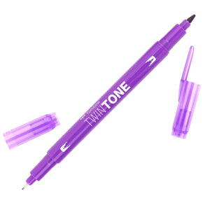 Tombow Violet TwinTone Marker