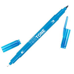 Tombow Turquoise Blue TwinTone Marker