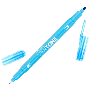Tombow Light Blue TwinTone Marker