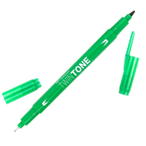 Tombow Green TwinTone Marker
