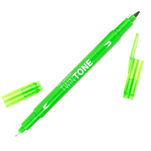 Tombow Yellow Green TwinTone Marker