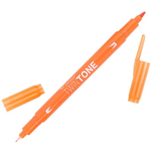 Tombow Orange TwinTone Marker
