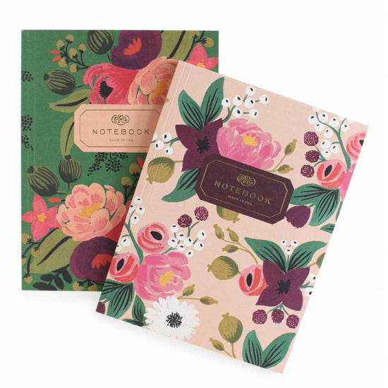 Vintage Blossoms Set of 2 Notebooks