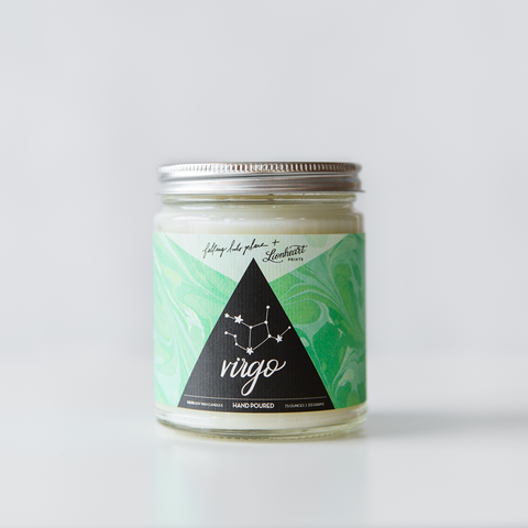 Virgo Astrology Candle